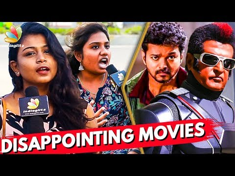 Most Disappointing & Appreciable Movies of 2018   Sarkar, 2.0   Kollywood Rewind 2018