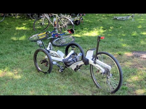 Completed Diy Recumbent Warrior Trike Doovi
