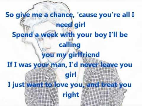 Boyfriend - Justin Bieber (Instrumental/Karaoke with Lyrics on Screen) [LEGIT]