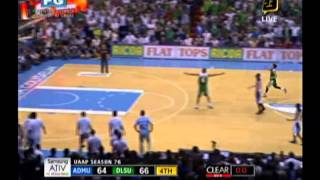WATCH Jeron Teng for the win with 18 seconds