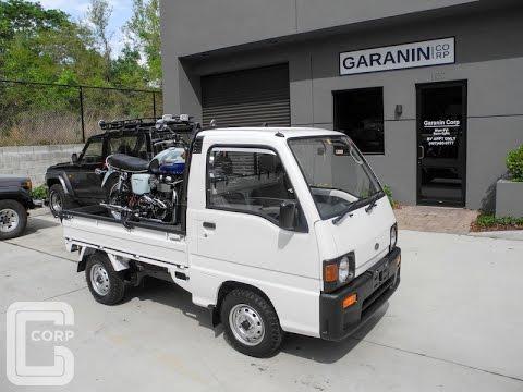 GCorp Special#1 - 1991 Subaru Sambar Kei Truck 4WD Super Deluxe Highway Performance Test.