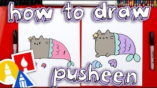How To Draw Pusheen Mermaid *Giveaway*