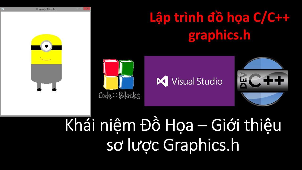 T4vn.com – [CC++] Lập trình đồ họa C/C++ graphics.h – Khái niệm & Giới thiệu