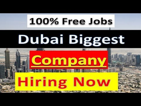 Dubai Biggest Company Hiring Staff Apply Now | Hindi Urdu |