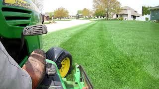 John Deere X728 7Iron Deck and GrassFlap OCDC