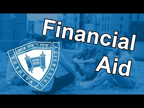 Undergraduate Financial Aid at Yeshiva University