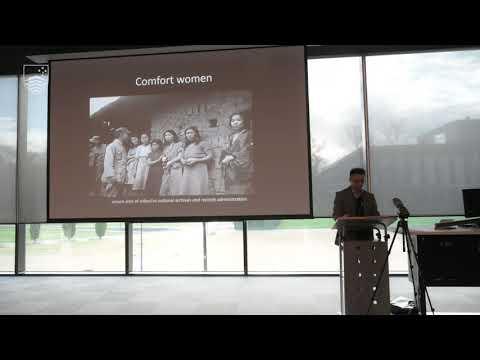 Memorialising the experiences of 'comfort women'