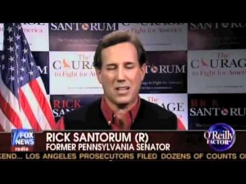 Sh*t Santorum Says