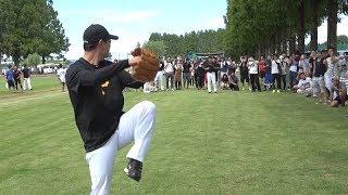 【軟式】桑田真澄のメジャー流ブルペン投球|カーブの落差が凄すぎる thumbnail