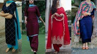Stylsih punjabi suit designs 2018 || beautiful punjabi suit design photos 2018