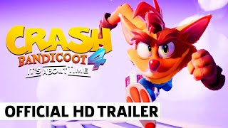 Crash Bandicoot 4: It's About Time – New Platforms Launch Trailer