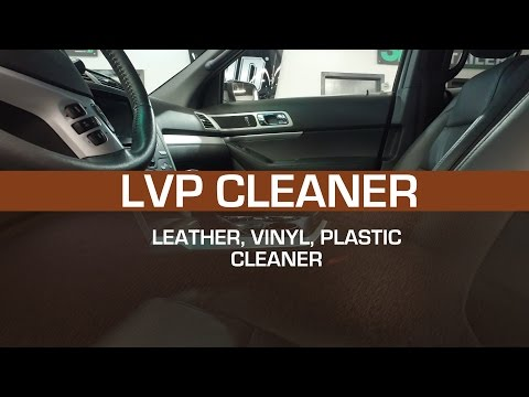 3D Products LVP Cleaner - Leather Vinyl Plastic Cleaner