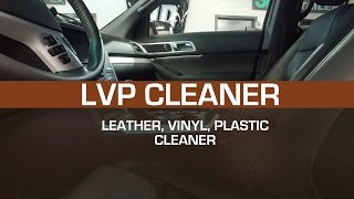 How to clean leather vinyl and plastic