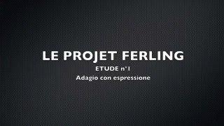 Projet FERLING Etude n°1