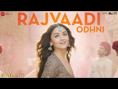 Rajvaadi Odhni -Kalank |Alia Bhatt, Varun Dhawan, Madhuri & Sonakshi | Jonita Gandhi | Pritam
