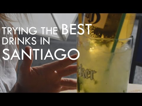TRYING THE BEST DRINKS IN SANTIAGO – CHILE |TRAVEL VLOG|