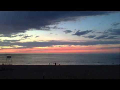 Zurriola beach like a lake - Donostia and Cantabrian sea