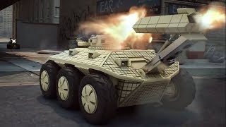 Remote Controlled Military Vehicle For Destroy Tanks,Helicopters & Infantry In Close Combat