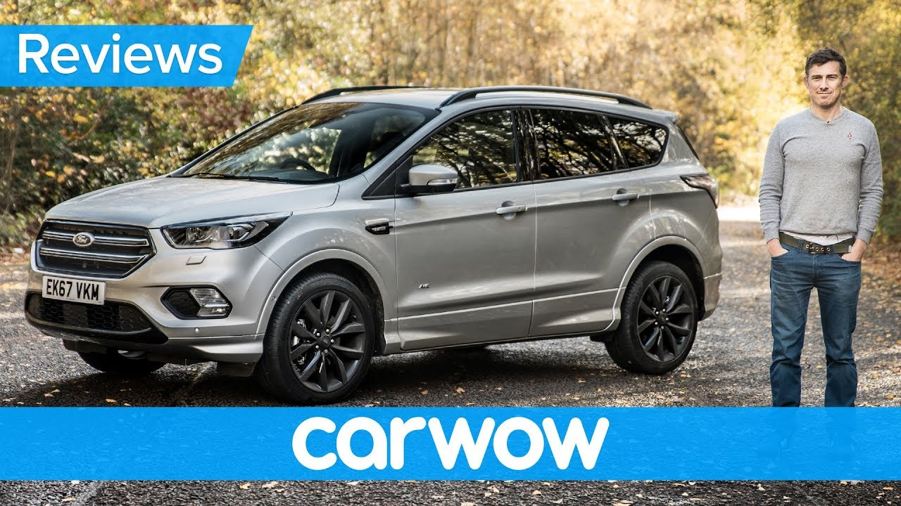 ford kuga 2018 suv in depth review carwow reviews youtube. Black Bedroom Furniture Sets. Home Design Ideas