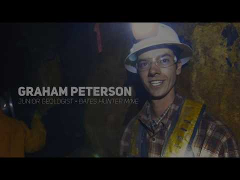 Graham Peterson | Junior Geologist at the Bates Hunter Mine