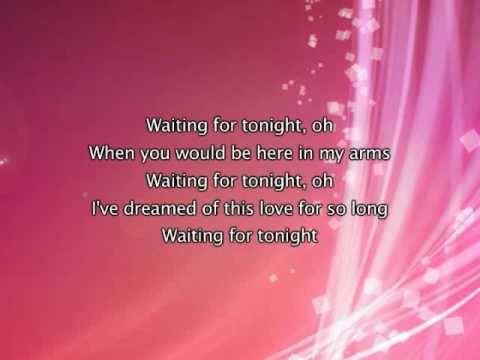 Jennifer Lopez - Waiting For Tonight, Lyrics In Video