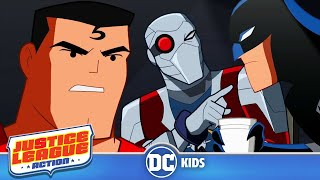 Justice League Action  Good Cop Bat Cop  DC Kids