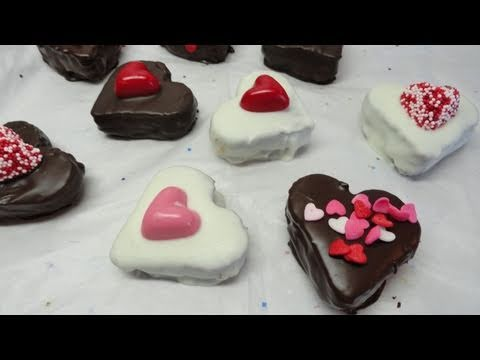 Chocolate Covered Valentine Heart  Brownie...