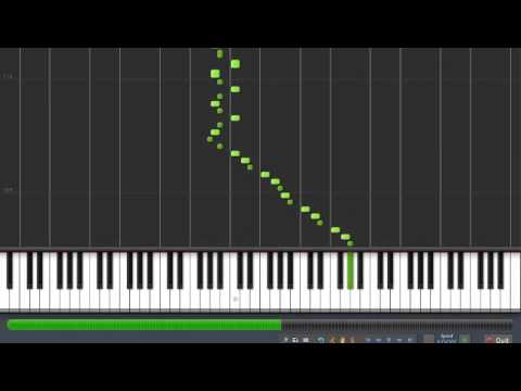 """Schubert - """"Wanderer Fantasy"""" - D760 - 1st Movement [Synthesia Piano Tutorial]"""