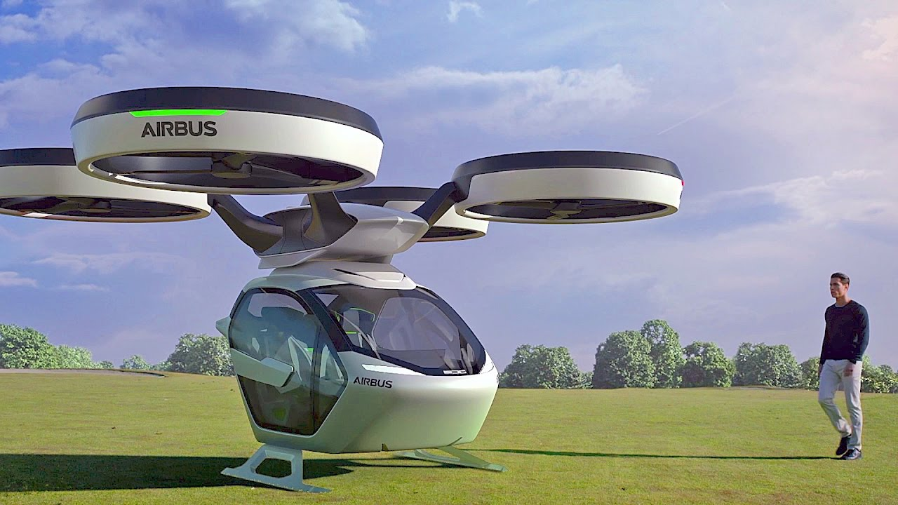 Flying Car by Airbus & Italdesign [YOUCAR]