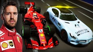 F1 2018 MOD CAREER #13   Singapore Daytime GP (Sebastian Vettel Onboard)