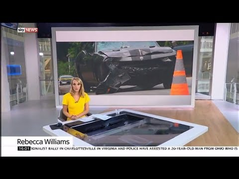Rebecca Williams presenting links & interviews - 13.8.2017 - 1600