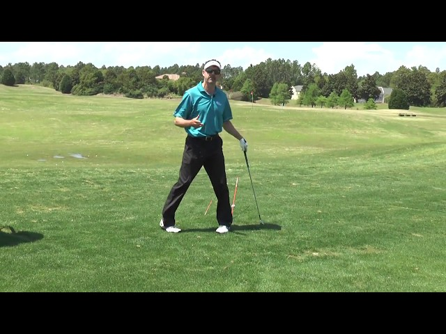 Alignment Sticks Downswing - Classic Swing Golf School | Myrtle Beach, SC