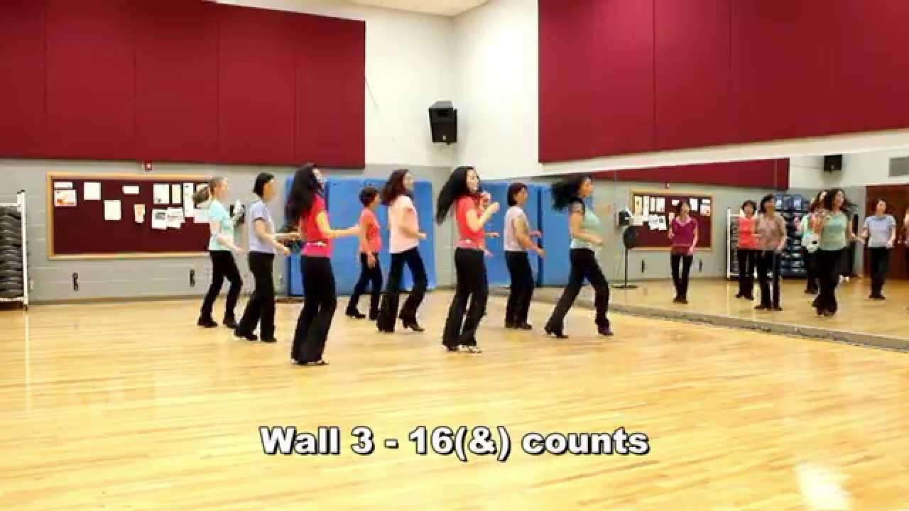 Foot play line dance dance teach in english
