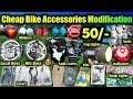 Cheap Bike Accessories Modification Market @ 50/  | Wholesale/retail | Karol Bagh Bike Market