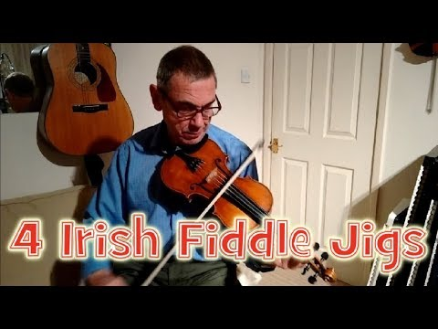 4 Irish Fiddle Jigs