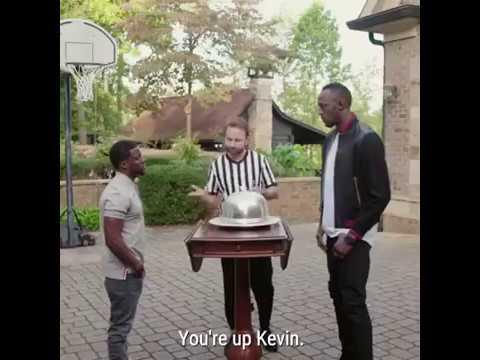 Kevin Hart vs Usain Bolt BLUFFING POKER Full Video