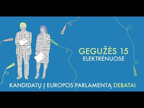 Tiesiogiai: Kandidatų į Europos Parlamentą debatai Elektrėnuose