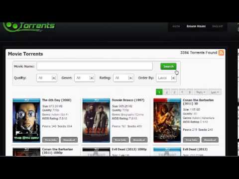 Convert torrent link into Direct Link