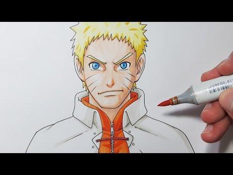 Drawing Naruto Sage of The Six Paths