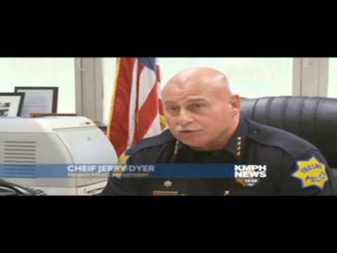 Fresno Police Dog Innocent Bystander
