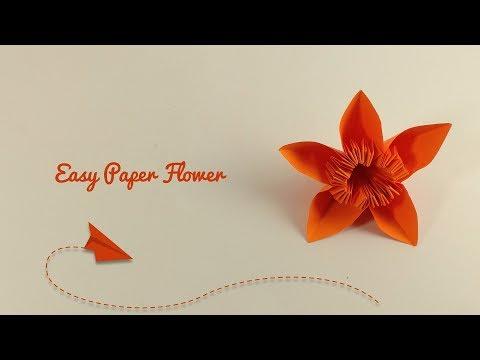 How To Make a Kusudama Paper FLower   Easy Paper FLower   DIY Paper FLower