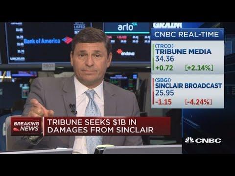 Tribune seeks $1 billion in damages from Sinclair