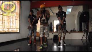Donflexx - Psquare Alingo Dance tutorial (official)   Prod by Zero Productions