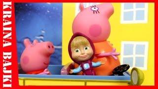 BAJKA • Świnka Peppa vs Masza i Niedźwiedź • WYCIECZKA NA WIEŚ