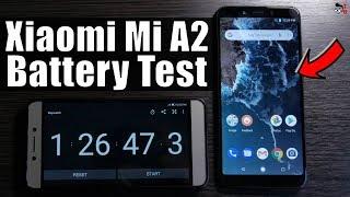 Xiaomi Mi A2 - Battery Drain Test & Charging Time