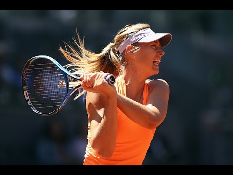 2017 Mutua Madrid Open First Round | Maria Sharapova vs Mirjana Lucic-Baroni | WTA Highlights