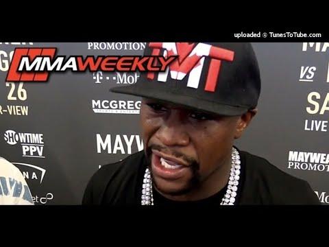 Floyd Mayweather - Mayweather vs McGregor Media Call