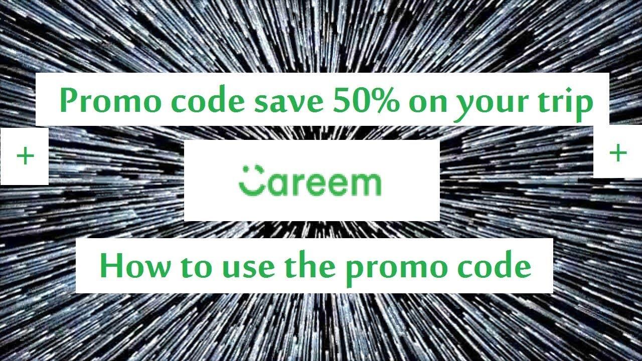 Careem promo code save 50% off book a ride