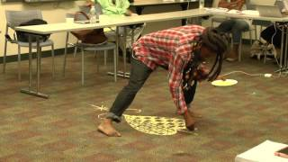 Veve Ritual, performed by Houngan Deenps Bazile