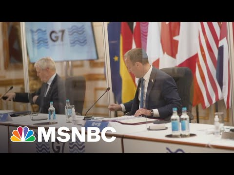 G7 Talks Center On How U.S. Allies Can 'Take A United Stand Against Russia'   Hallie Jackson   MSNBC